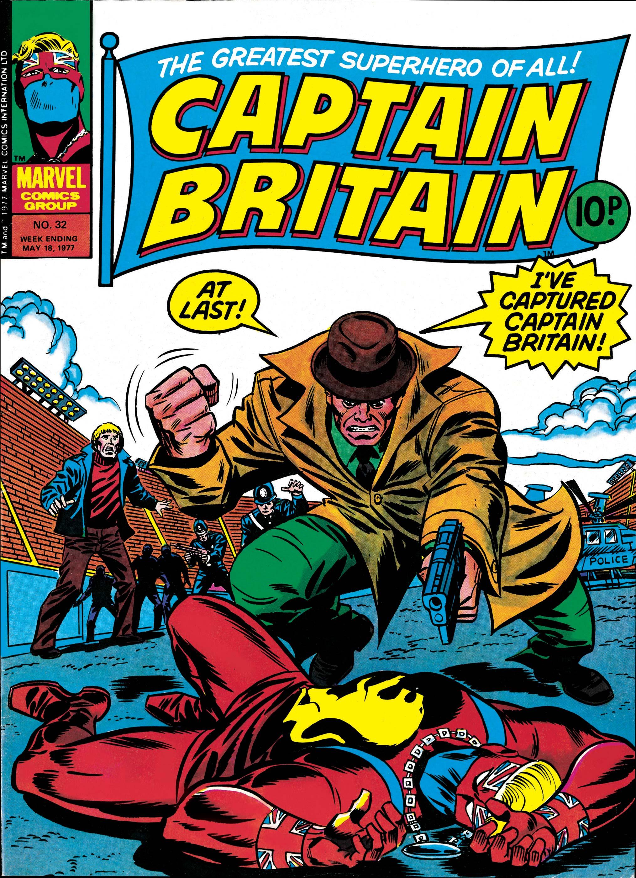 Captain Britain (1976) #32