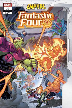 Fantastic Four (2018) #22 (Variant)