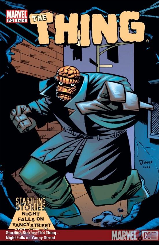 Startling Stories: Thing - Night Falls on Yancy Street (2003) #1