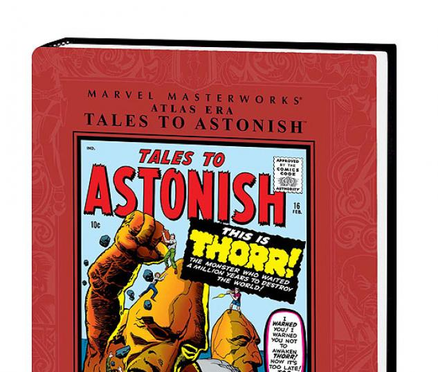 MARVEL MASTERWORKS: ATLAS ERA TALES TO ASTONISH VOL. 2 #0