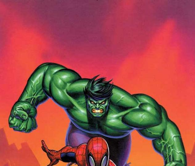 actor presents spider man and the incredible hulk 2004 1 cover