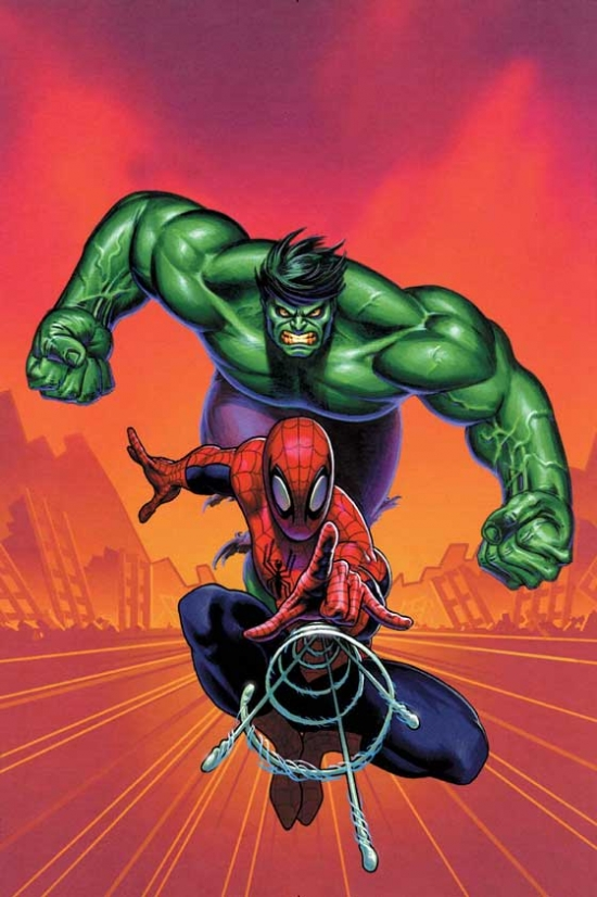 Actor Presents Spider-Man and the Incredible Hulk (2003) #1
