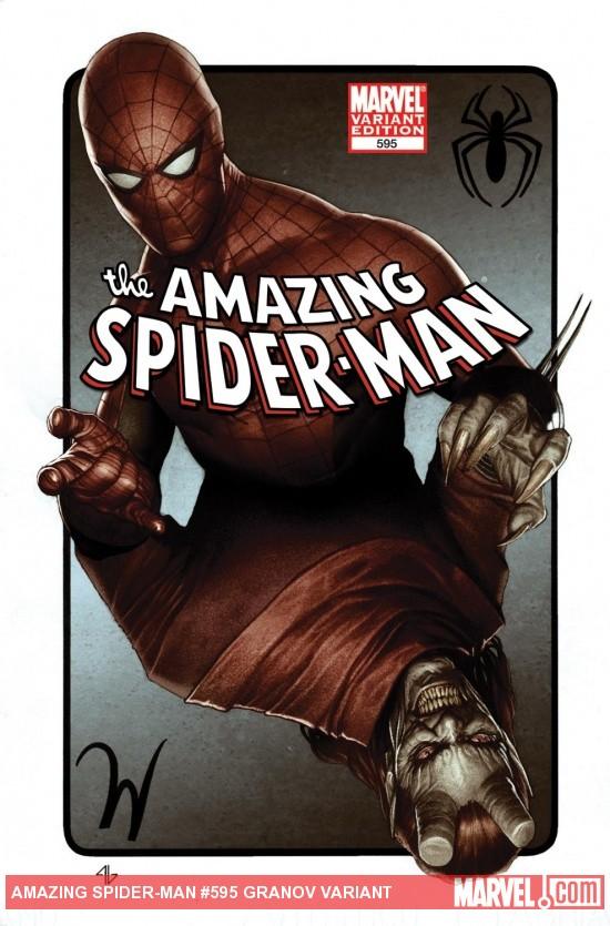 Amazing Spider-Man (1999) #595 (GRANOV VARIANT)