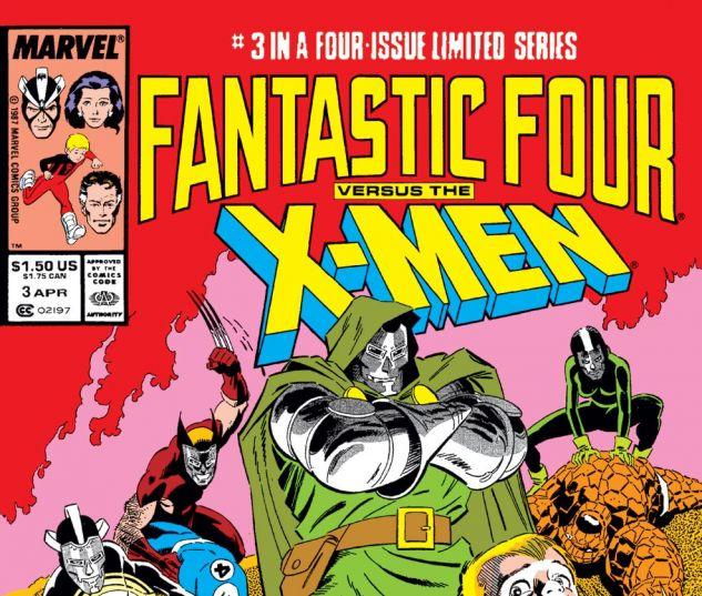 Fantastic Four vs. the X-Men (1987) #3 Cover