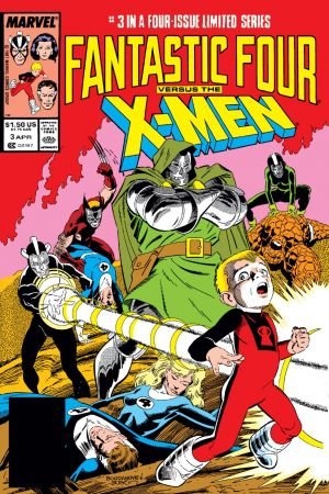 Fantastic Four Vs. X-Men #3