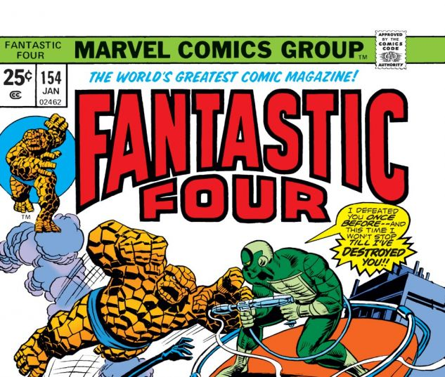 Fantastic Four (1961) #154 Cover