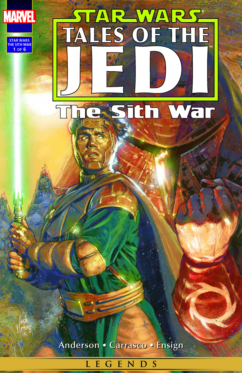 Star Wars: Tales Of The Jedi - The Sith War (1995) #1