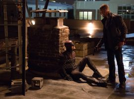 Two vigilantes collide in 'Marvel's Daredevil,' returning to Netflix on March 18!