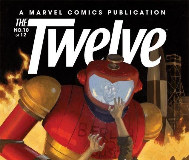 THE TWELVE (2010) #10 Cover
