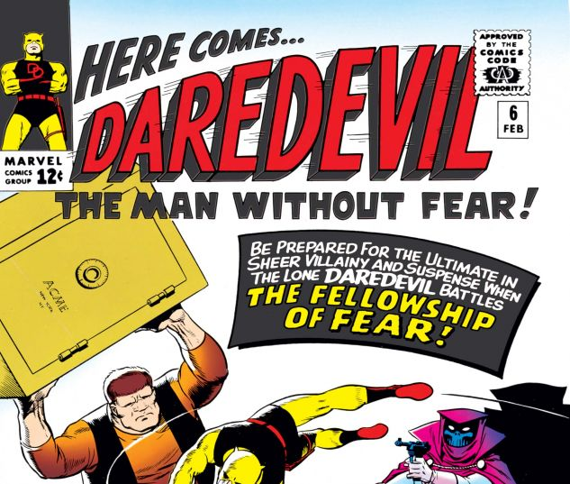 DAREDEVIL (1964) #6 Cover
