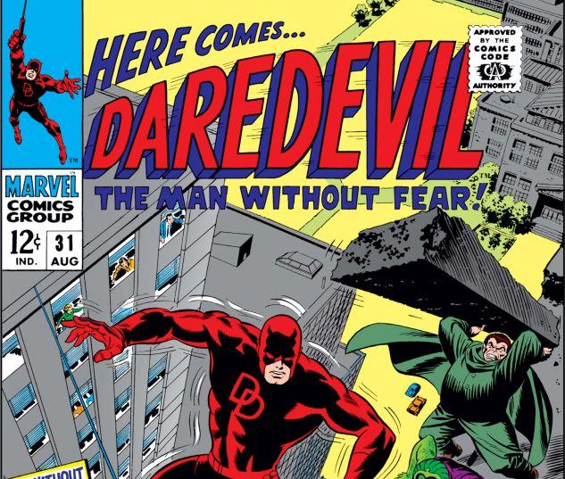 DAREDEVIL (1964) #31 Cover