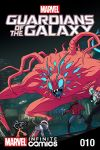 Marvel Universe Guardians of the Galaxy Infinite Comic (2015) #10