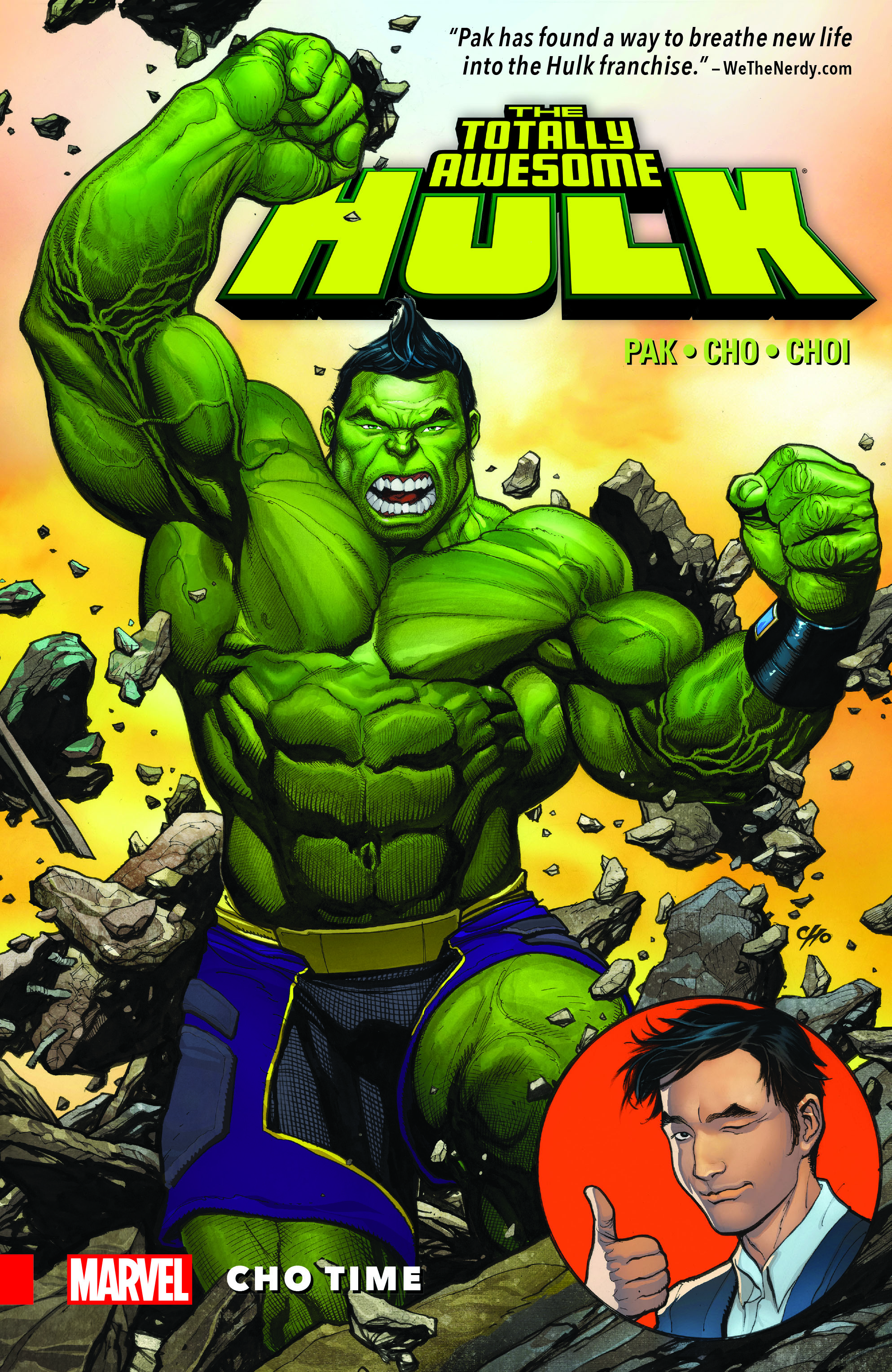 THE TOTALLY AWESOME HULK VOL. 1: CHO TIME (Trade Paperback)