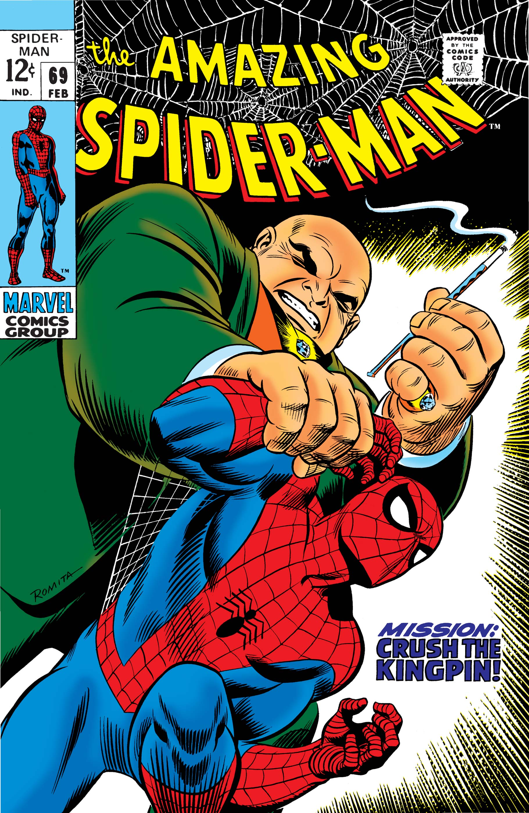 The Amazing Spider-Man (1963) #69