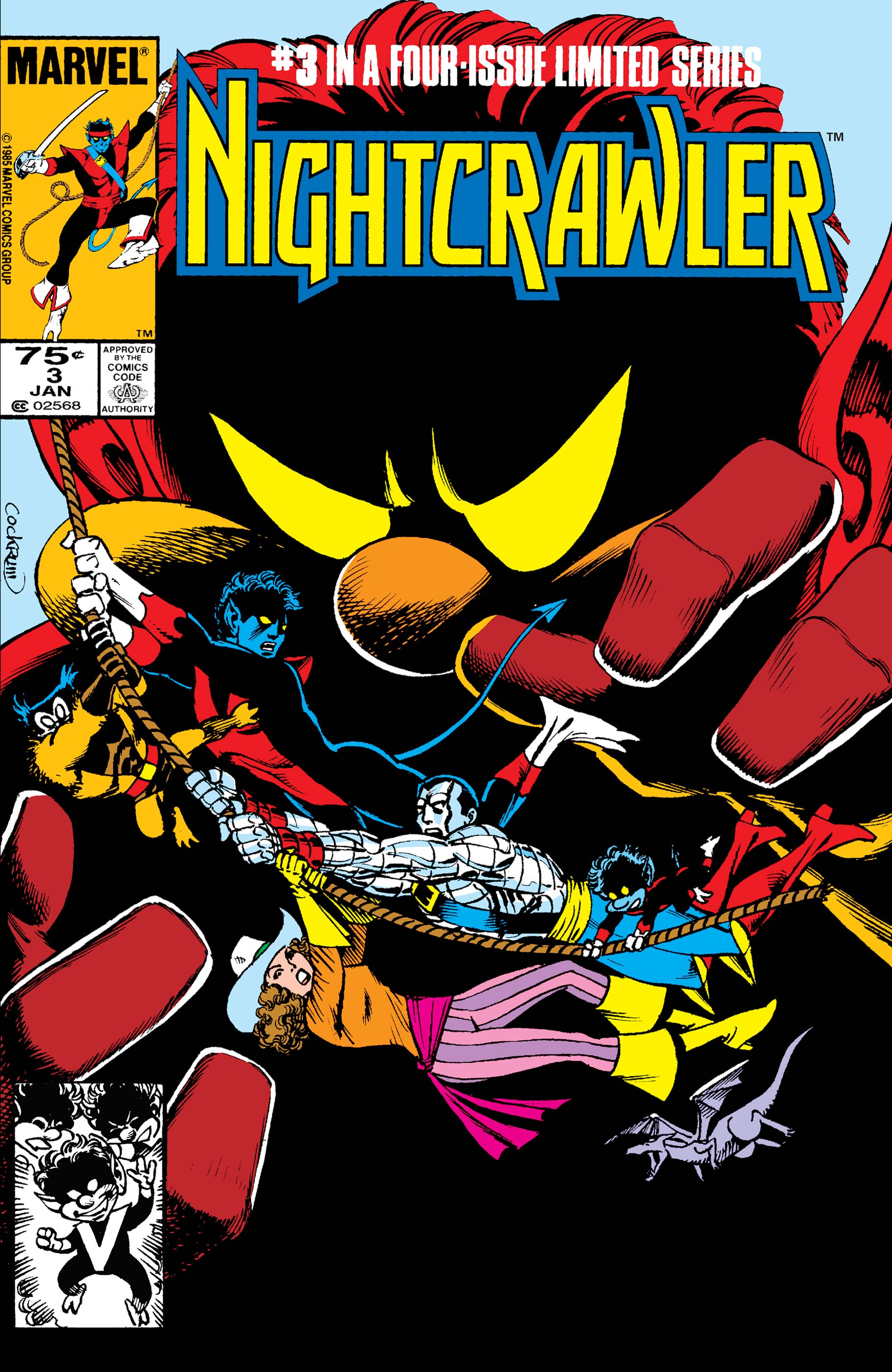 Nightcrawler (1985) #3