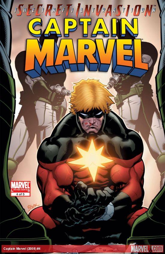 Captain Marvel (2008) #4