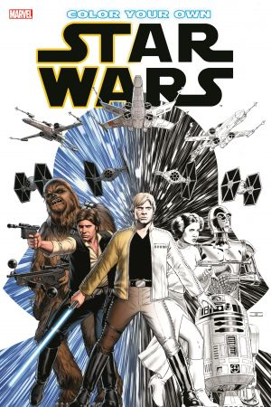 Color Your Own Star Wars (Trade Paperback)