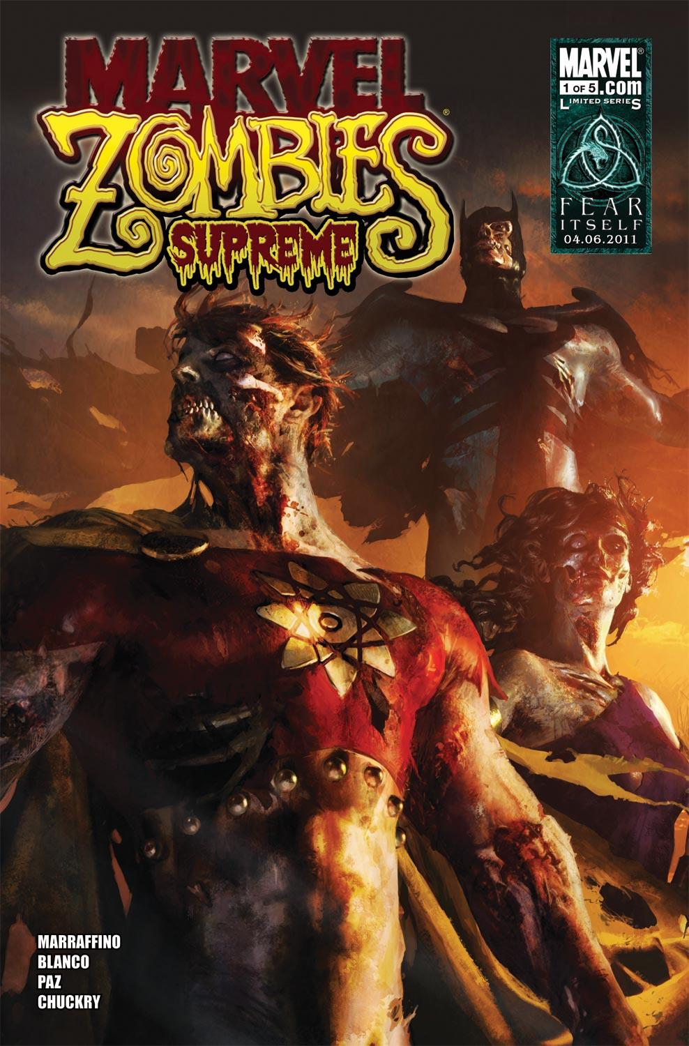 Marvel Zombies Supreme (2010) #1