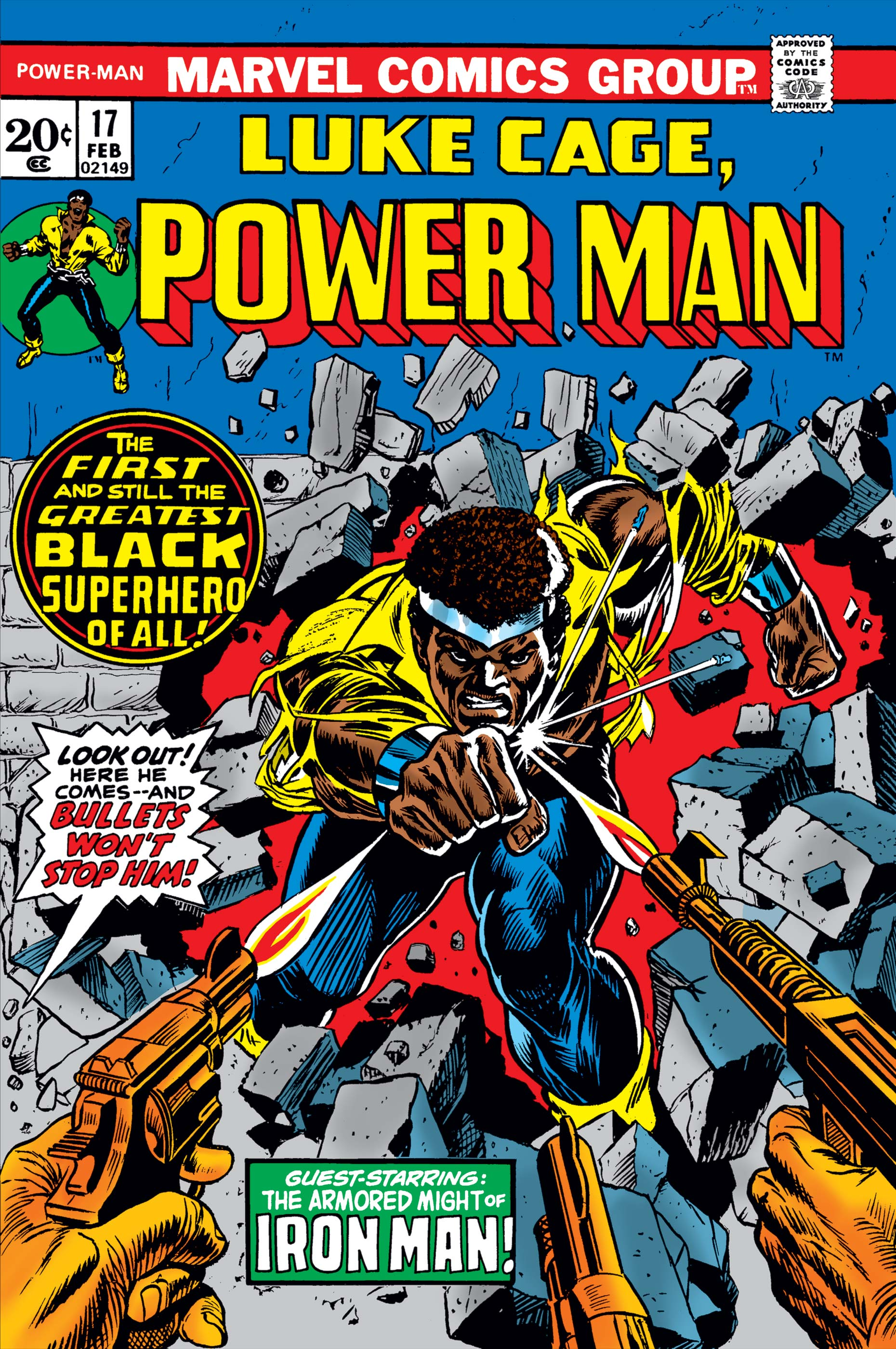 Power Man (1974) #17
