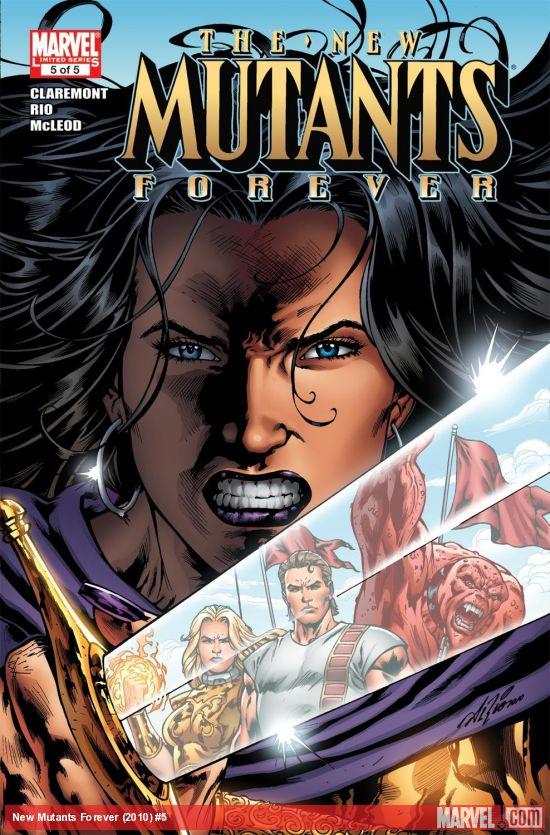 New Mutants Forever (2010) #5
