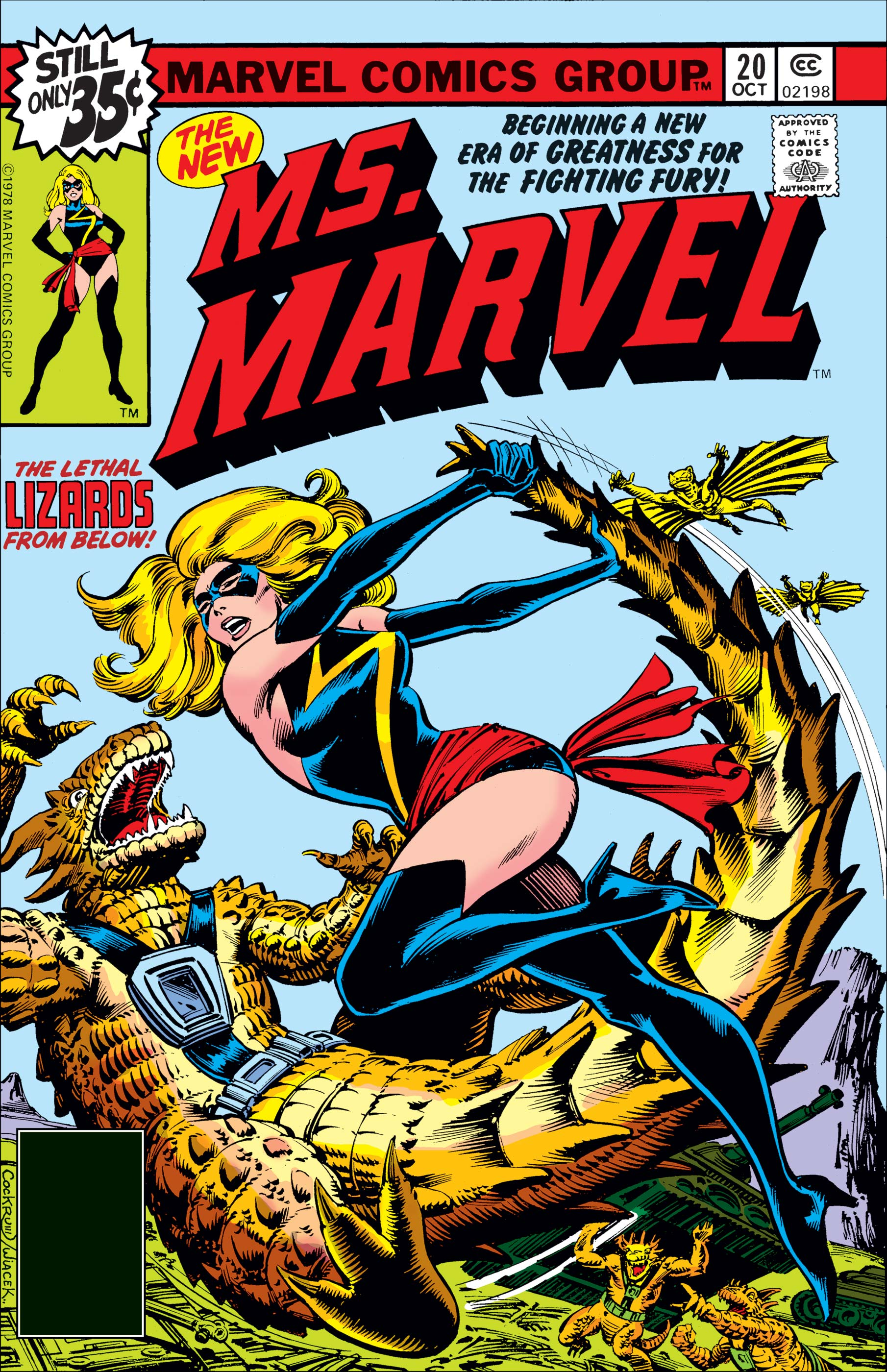Ms. Marvel (1977) #20