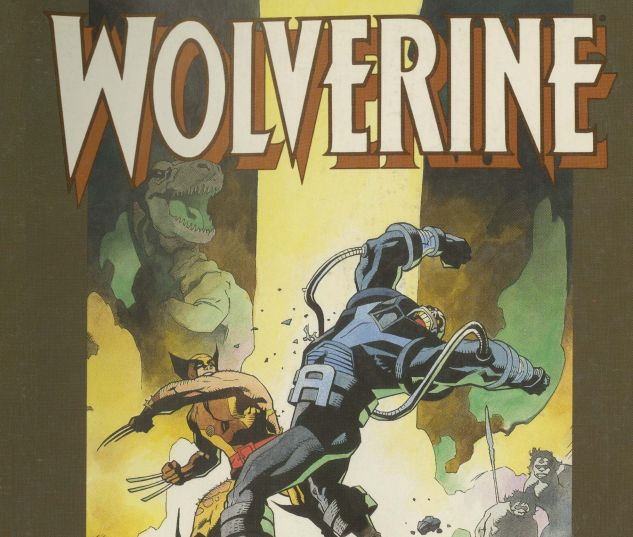 Cover for WOLVERINE: THE JUNGLE ADVENTURE