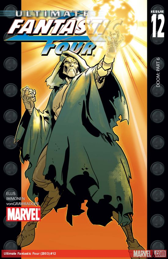 Ultimate Fantastic Four (2003) #12
