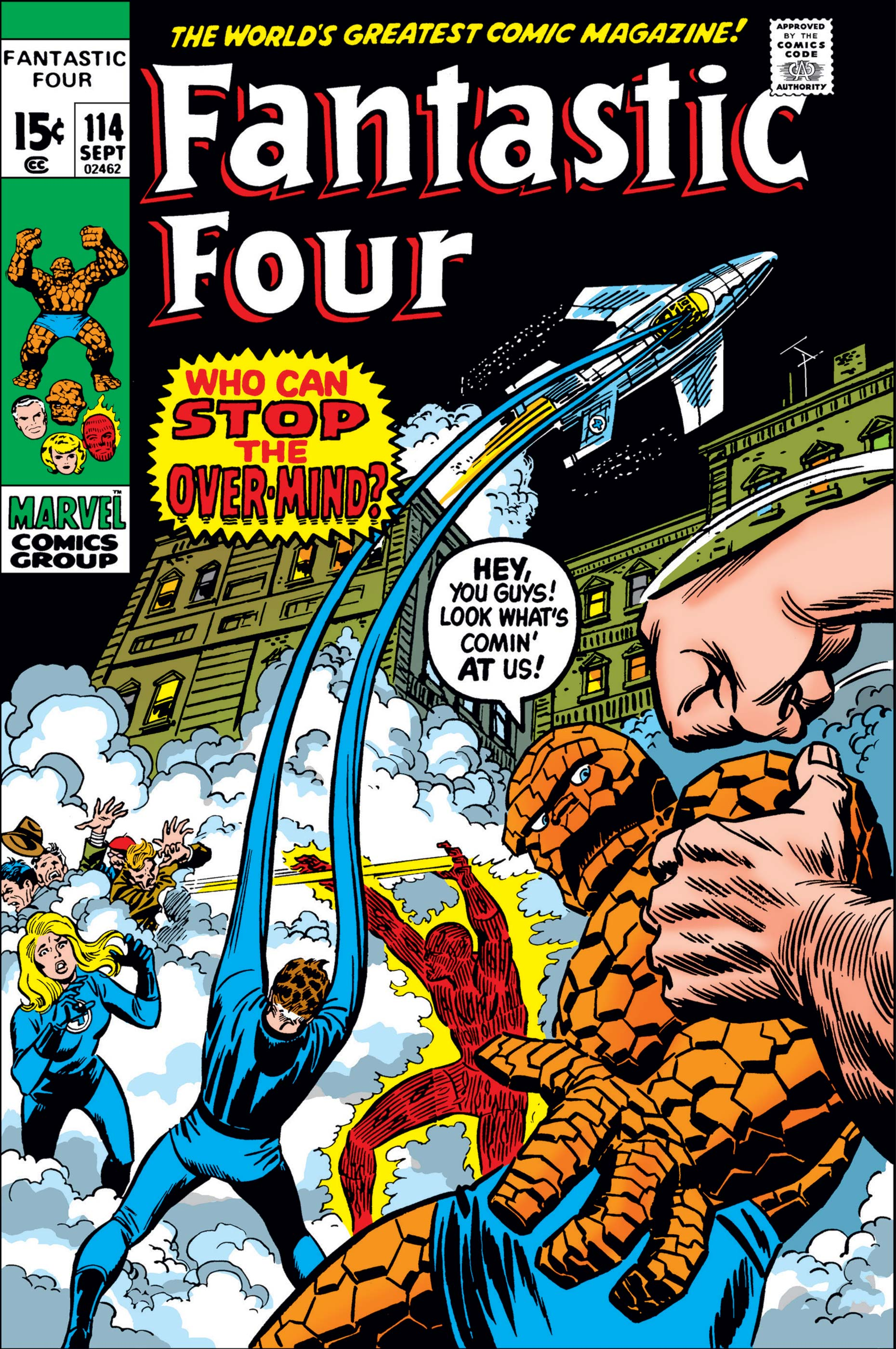 Fantastic Four (1961) #114