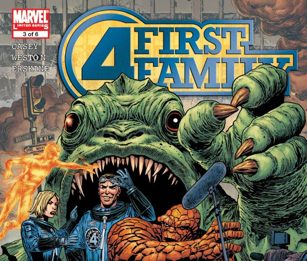 FANTASTIC FOUR: FIRST FAMILY (2006) #3