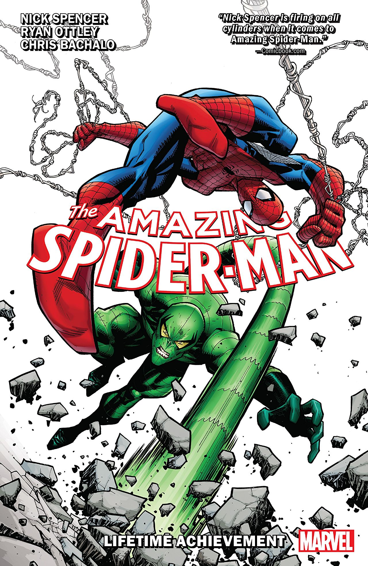 Amazing Spider-Man by Nick Spencer Vol. 3: Lifetime Achievement (Trade Paperback)