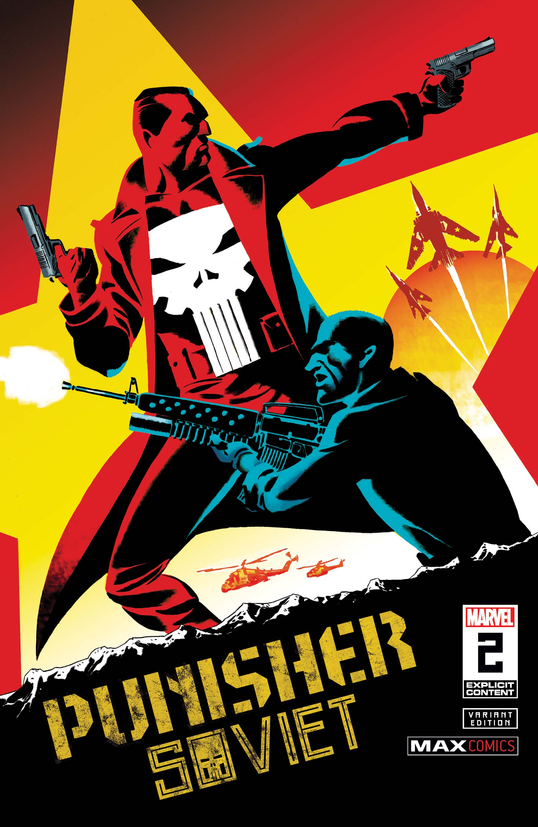 Punisher: Soviet (2019) #2 (Variant)