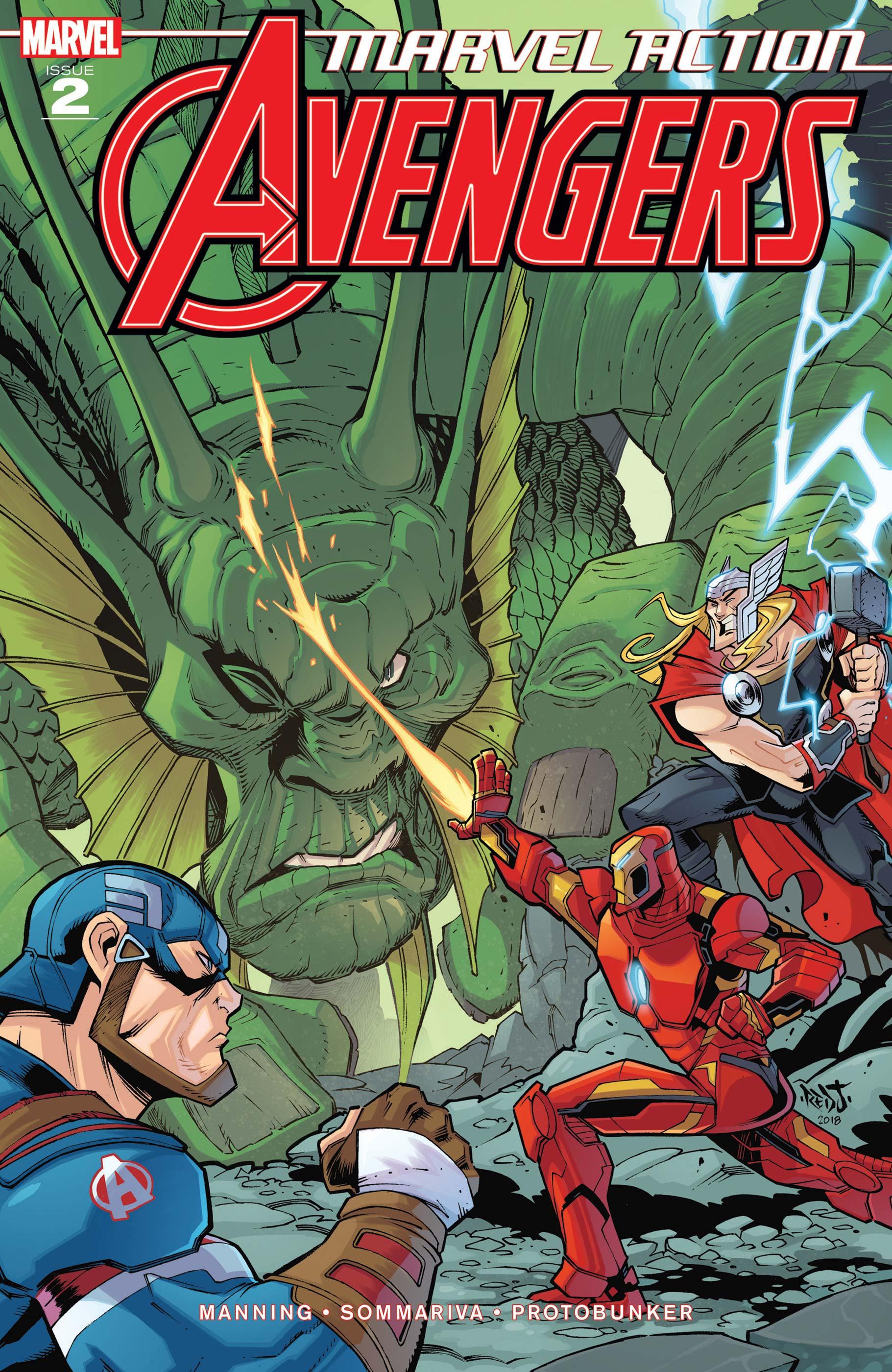 Marvel Action Avengers (2018) #2