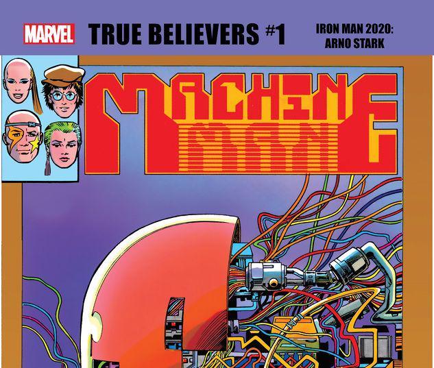 TRUE BELIEVERS: IRON MAN 2020 - ARNO STARK 1 #1