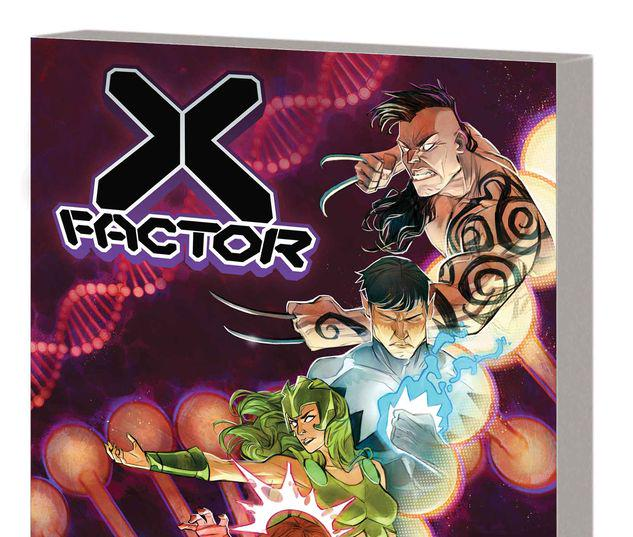 X-FACTOR BY LEAH WILLIAMS VOL. 1 TPB #1