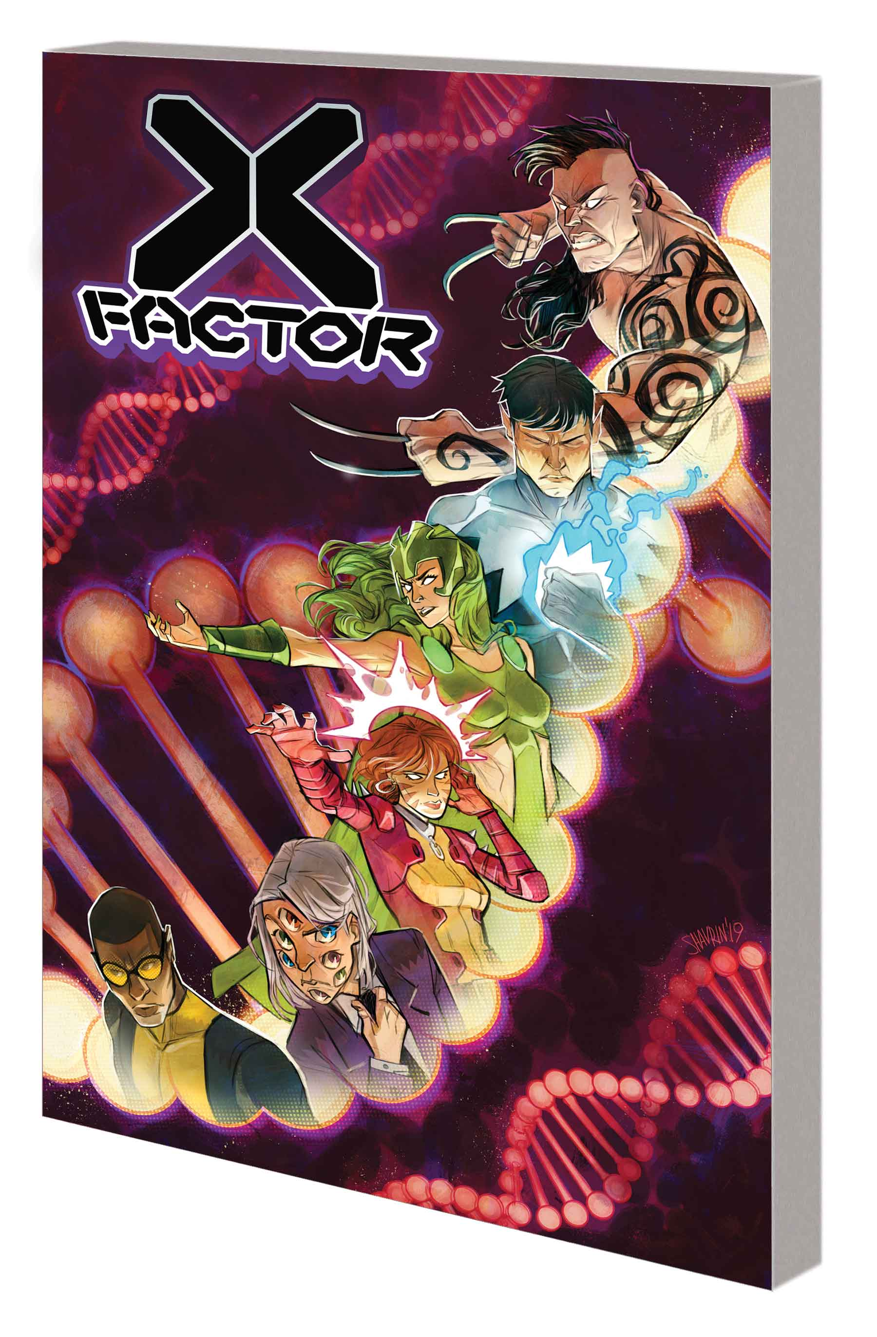 X-FACTOR BY LEAH WILLIAMS VOL. 1 TPB (Trade Paperback)