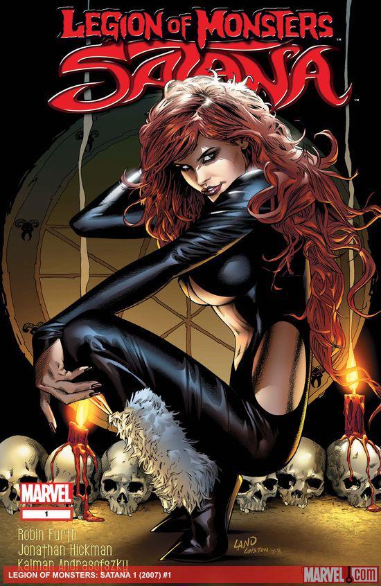 Legion Of Monsters: Satana (2007) #1