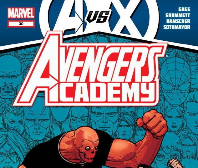 Avengers Academy #30 cover by Giuseppe Camuncoli
