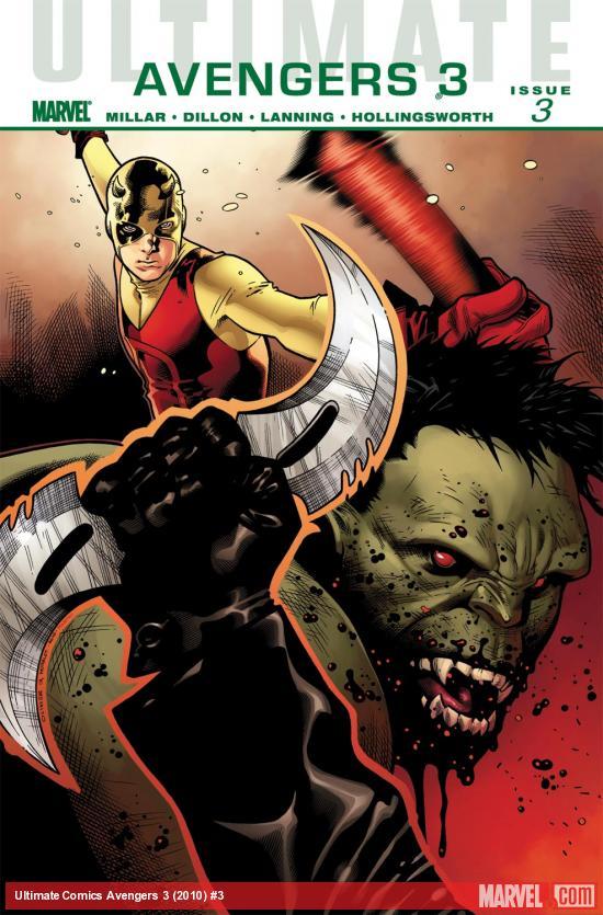 Ultimate Comics Avengers 3 (2010) #3
