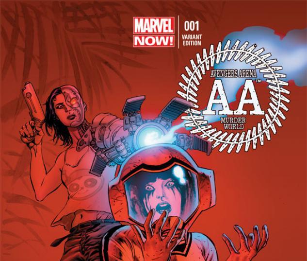 Avengers Arena #1 Variant