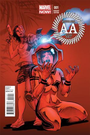 Avengers Arena (2012) #1 (Perkins Variant)