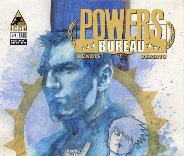 POWERS: BUREAU 1 MACK VARIANT (1 FOR 20)