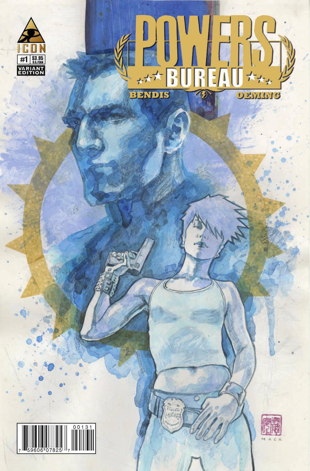 Powers: Bureau  (2012) #1 (Mack Variant)
