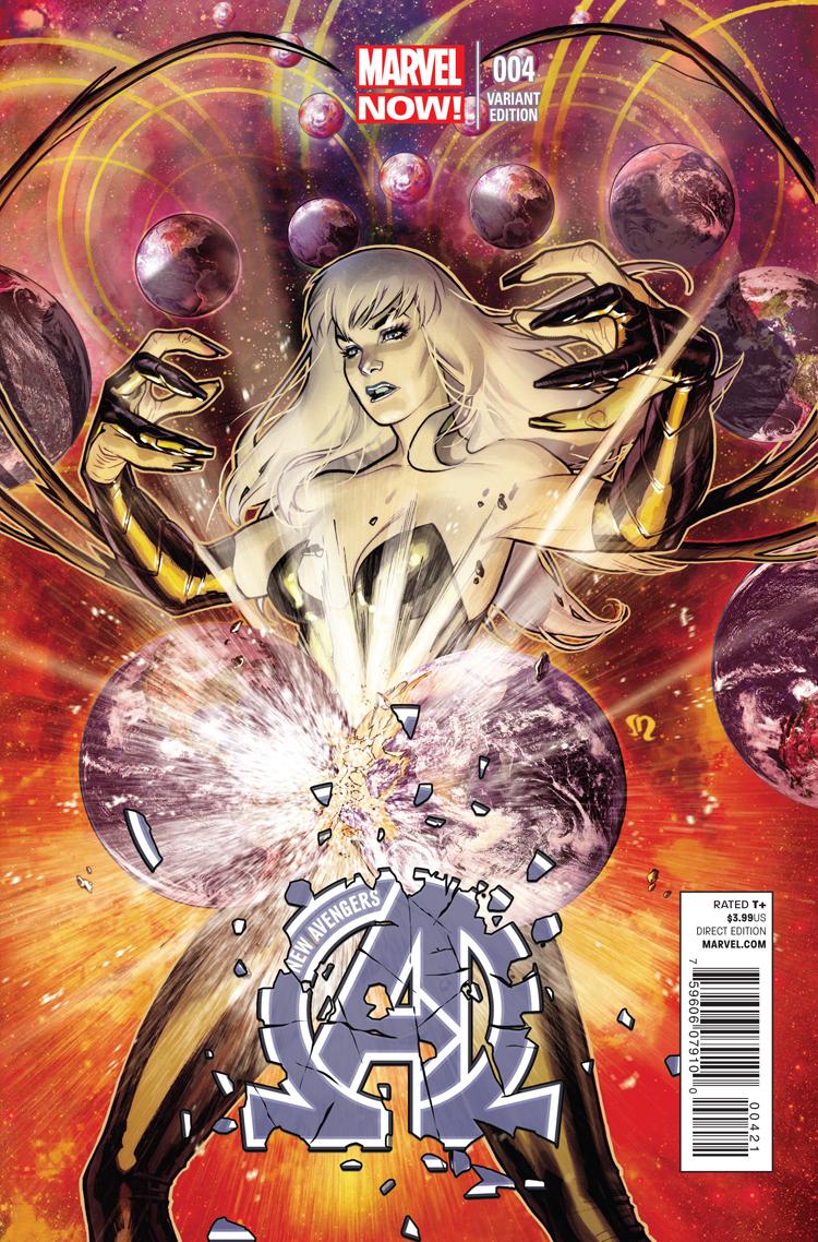 New Avengers (2013) #4 (Roux Variant)