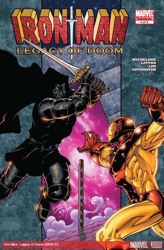 Iron Man: Legacy of Doom (2008) #3