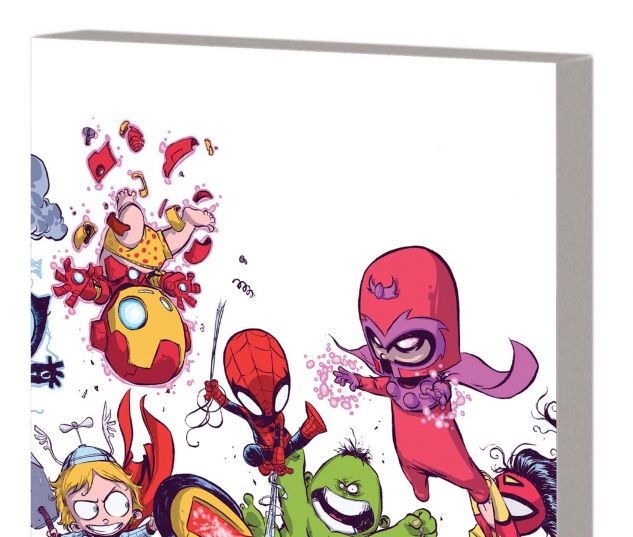 YOUNG MARVEL: LITTLE X-MEN, LITTLE AVENGERS, BIG TROUBLE TPB