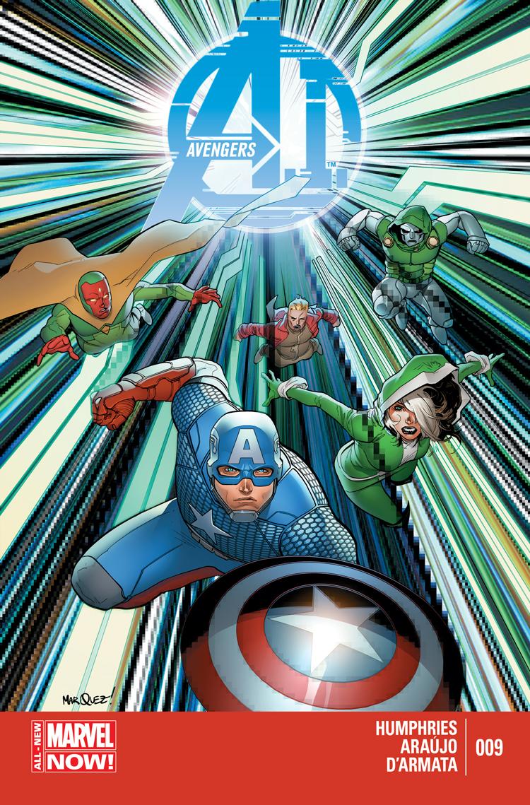 Avengers A.I. (2013) #9