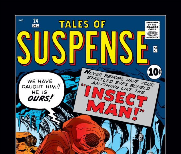 Tales of Suspense (1959) #24 Cover