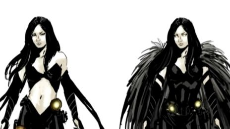 Marvel AR: White Swan Art Evolution