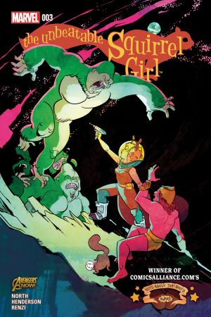 The Unbeatable Squirrel Girl #3
