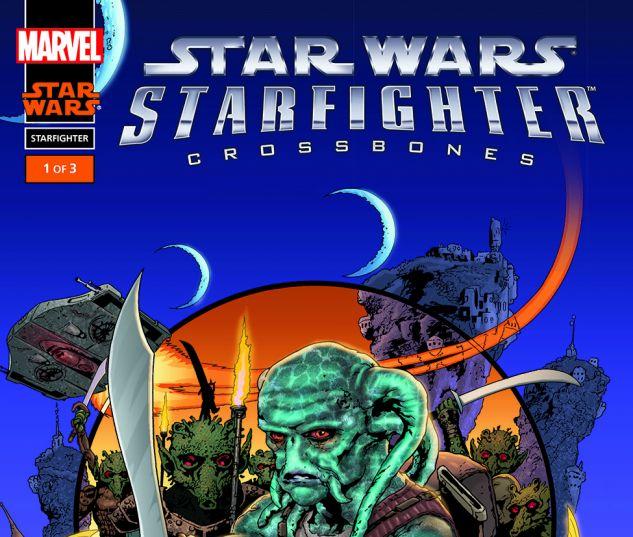 Star Wars: Starfighter - Crossbones (2002) #1